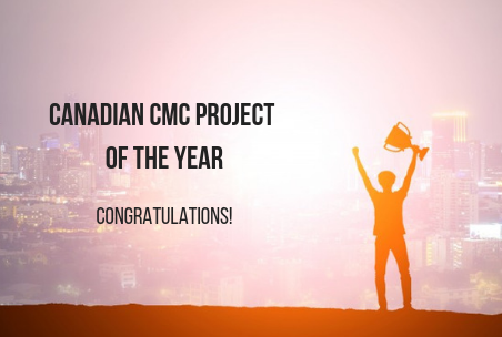 CMC-Canada Announces the 2019 Canadian CMC Project of the Year Winner, Constantinus Nomination